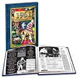 1961 What a Year It Was Book - Nostalgic 50th Birthday Present or 50th Wedding Anniversary Gift Idea