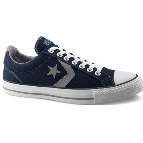 Converse Star Player EV OX Navy Blue And Grey