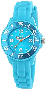 Ice-Watch Womens Ladies SITEMS13 Childrens Mini Turquoise Resin Strap Wrist Watch