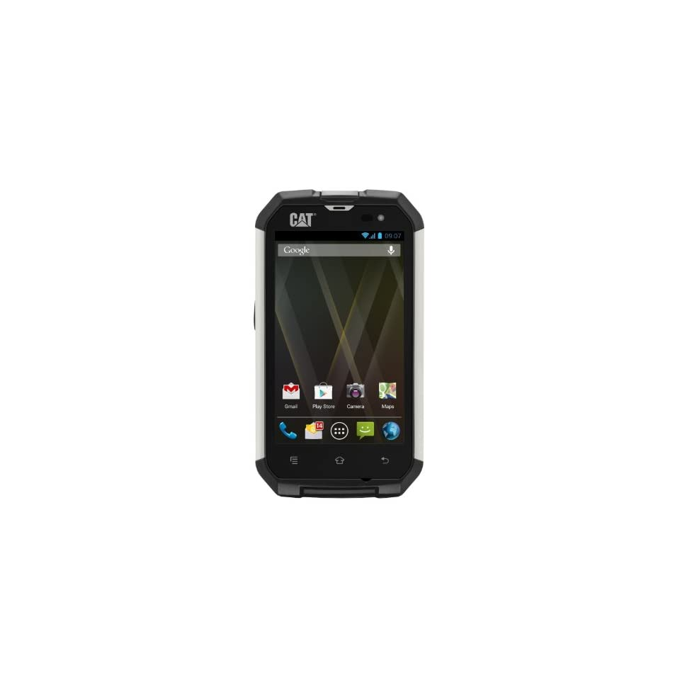 Caterpillar CAT B15 IP67 Rugged Android Unlocked GSM Single SIM Smartphone Cell Phones & Accessories