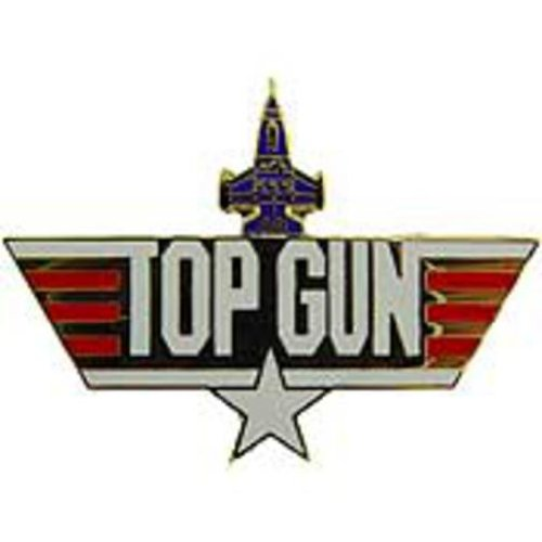 U.S. Navy Top Gun Pin 1 3/4