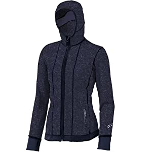 Brooks Women's Utopia Thermal Hoodie II, Color: Midnight, Size: XS