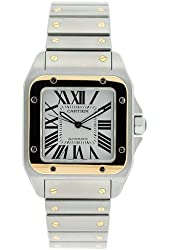 Cartier Men's W200728G Santos 100 Automatic Two-Tone Watch