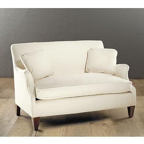 Hudson Upholstered Settee - Ballard Designs
