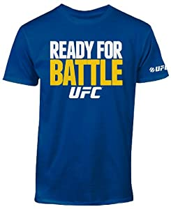 UFC Men's Ready for Battle Tee, Royal, XX-Large