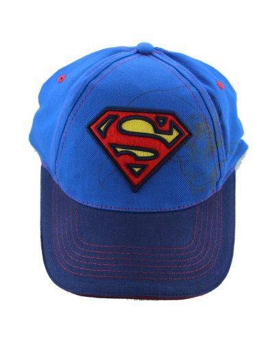 Baseball Cap - DC Comic Superman - Logo Blue (Kids/Youth Hat)