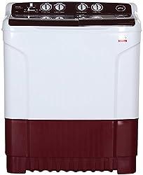 Godrej WS Edge 680 CT Semi-automatic Washing Machine (6.8 Kg, Wine red)