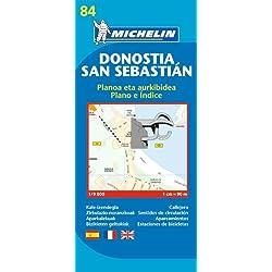 San Sebastian City Plan (Michelin City Plans)