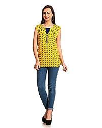 ahhaaaa Women's Top (Yellow) (L)