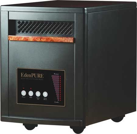 NEW EdenPURE Gen3 Model 1000 Infrared Portable Zone Heater