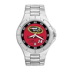 NASCAR Tony Stewart 2011 NSCC Champion Mens Pro II Watch with Stainless Steel... by Logo Art