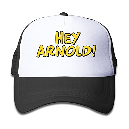 child-hey-arnold-logo-adjustable-snapback-trucker-hat-black-one-size