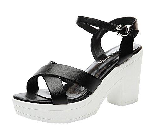fq-real-womens-trendy-cross-block-heel-ankle-strap-platform-open-toe-sandals-55-ukblack
