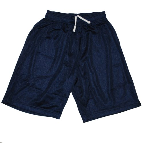 French Toast Little Boys' Mesh Gym Shorts Navy 4