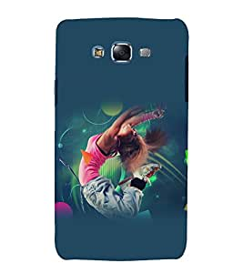 printtech Girl Dance Music Back Case Cover for Samsung Galaxy Core 2 G355H