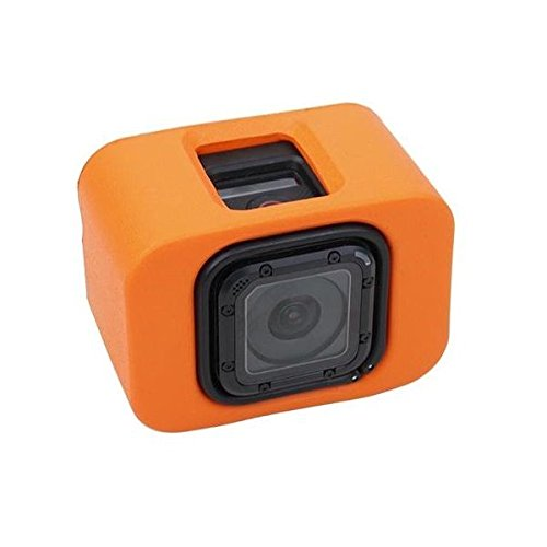 MaximalPower Floaty Case for GoPro Hero 4s 5s and Session Yellow