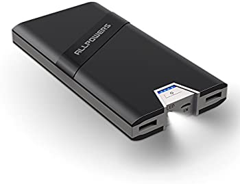 ALLPOWERS 20800mAh Portable Power Bank with 2 USB Ports