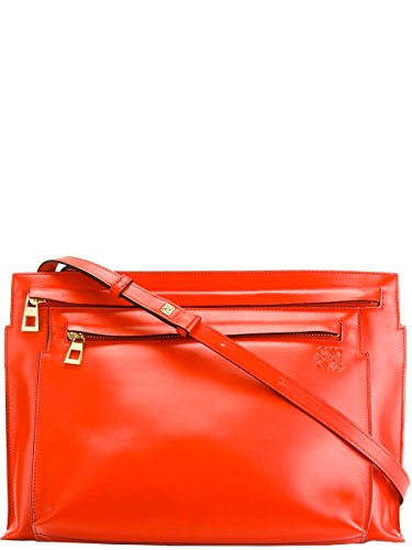 loewe-womens-10954m337931-red-leather-shoulder-bag