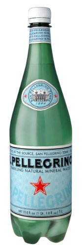 San Pellegrino Sparkling Natural Mineral Water, 33.81-Ounce Bottles (Pack of 12)