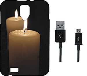BKDT Marketing Beautifully printed Soft Back cover for Karbonn S109 With Charging Cable