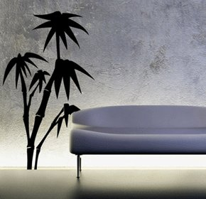 Decorazione casa Palm tree wall art, adesivi in vinile, H = 50cm, W = 50cm