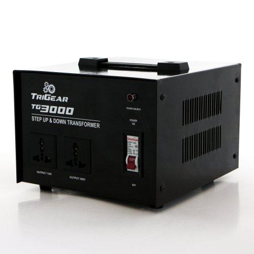 Trigear Tg 3000W 3000 Watt Step Up Down Voltage Transformer Converter Ac 110 / 220 V Or 110 / 220 Volt
