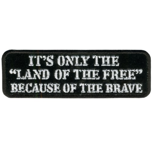 Hot Leathers Land Of The Free Patch (4