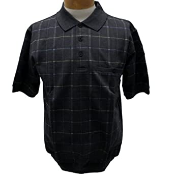 Safe Harbor Banded Bottom Men's Shirt at Amazon Men's Clothing store