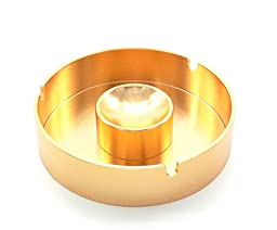 Metal Smoking Creative Ashtray (Gold color)