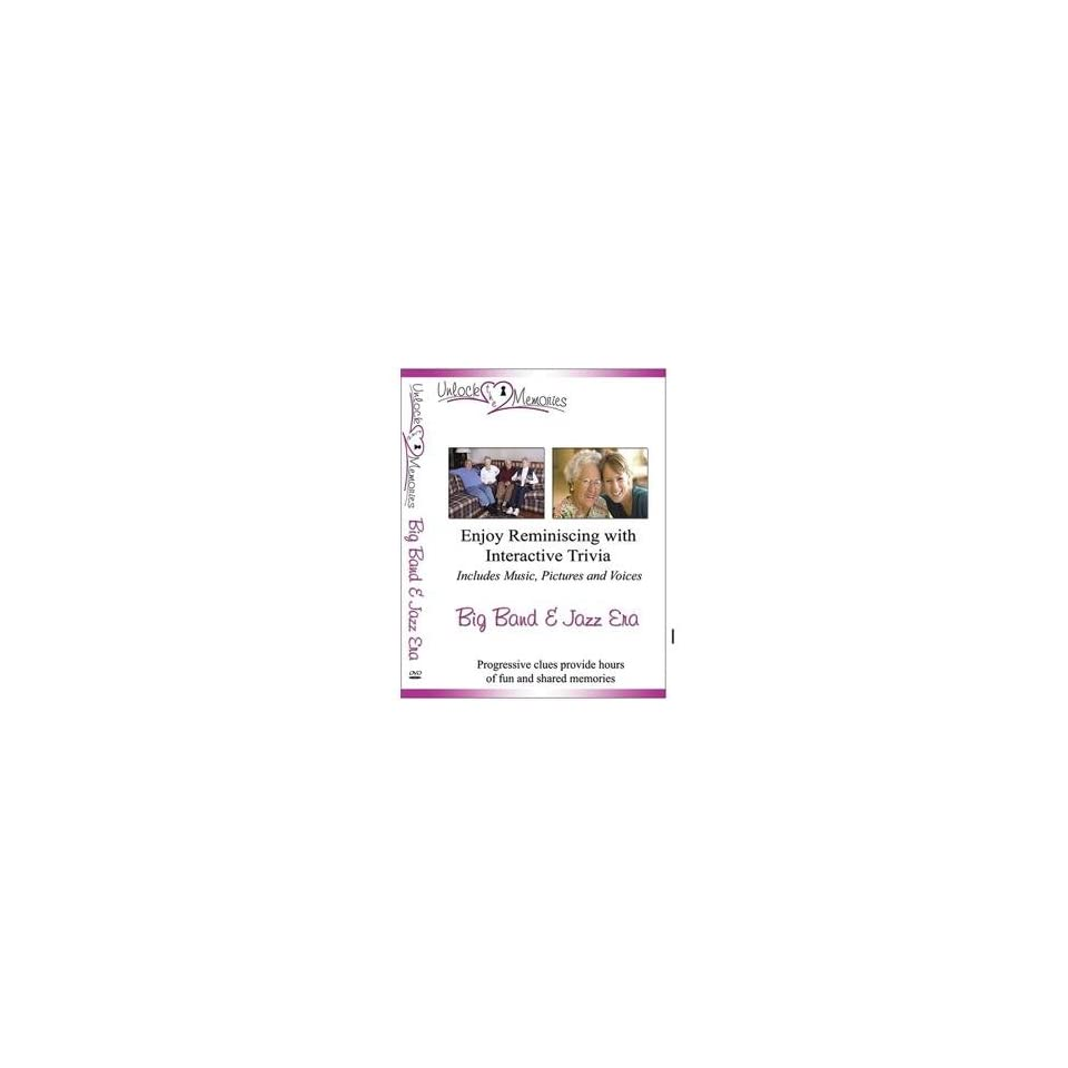 S&S Worldwide Unlock the Memories Dvd, Big Band & Jazz Era