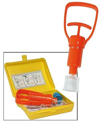 Kit Medico per Rimozione Veleno da Puntura di Insetti e Vipere ecc First Aid Kit Snake Montagna Mare Militare Soft Air MIL-TEC Art.16027500