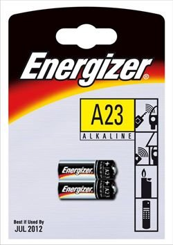 ENERGIZER 2 piles Alcalines A23
