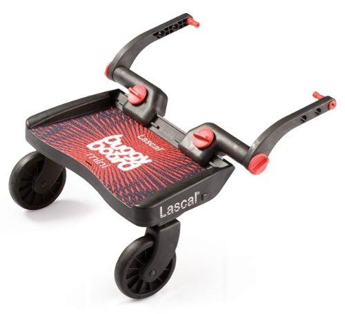 Lascal 2850 - Carrellino Buggy Board Mini, colore: Rosso