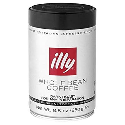 Illy Dark Roast Whole Bean Coffee 8.8 Oz.
