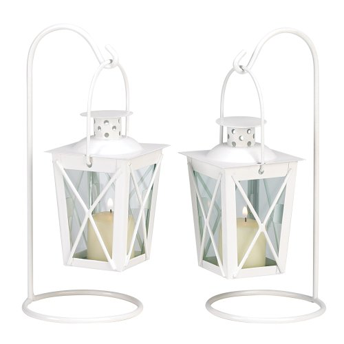 20 WHITE WEDDING LANTERN CENTERPIECES FAVORS NEW GiftsForHimOrHer B002PMOWPU