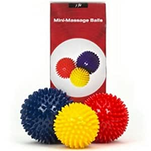 j/fit Mini Massage Balls (Set of 3)