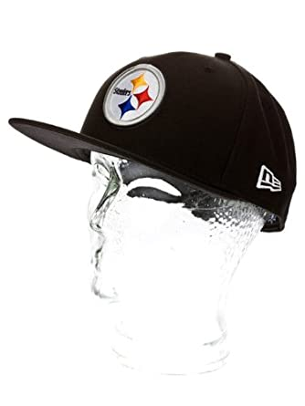 NFL Mens Pittsburgh Steelers On Field 5950 Game Cap By New Era by New Era