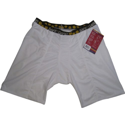 GF Sports & Athletic Softball/Baseball Sliding Short for Women - Regular Rise - White