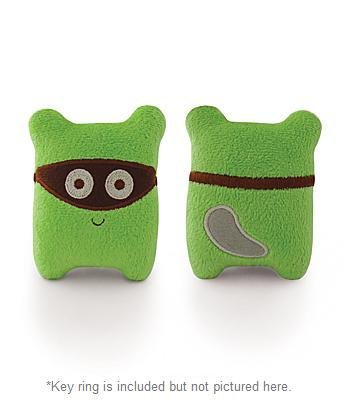 Milkdot Bandits Plush Key Ring, Chiro (Green)