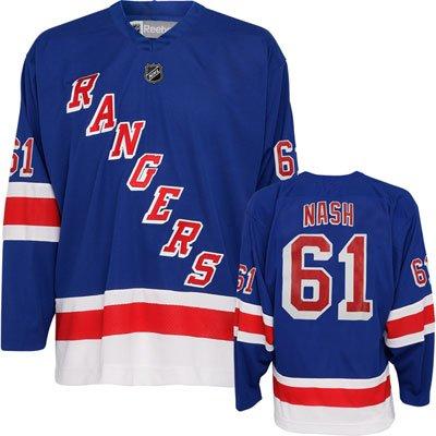 Rick Nash New York Rangers Blue Home NHL Youth Replica Jerse