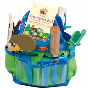 Children's Gardening Tools Kit - Blue