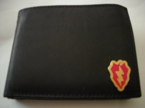 25Th Infantry Division Bi-Fold Leather Wallet