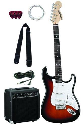 Fender Starcaster Strat Pack - 3-Tone Sunburst