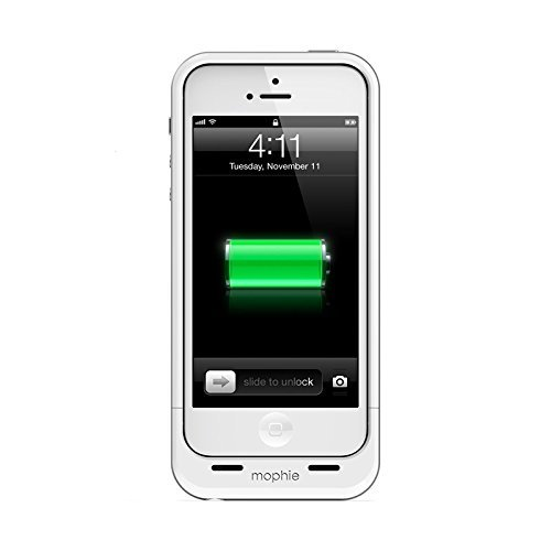 mophie juice pack air made for iPhone 5s / 5 (1700mAh) protective battery case - White [並行輸入品]
