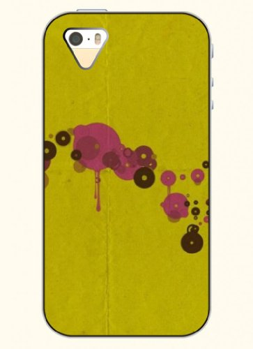 Oofit Phone Case Design With Abstract Art - Yellow Shading For Apple Iphone 4 4S 4G front-512248