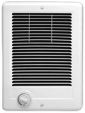 Cadet Manufacturing 67508 120-Volt White Hard Wired Com Pak Fan Forced Electric Heater, 1000-Watt