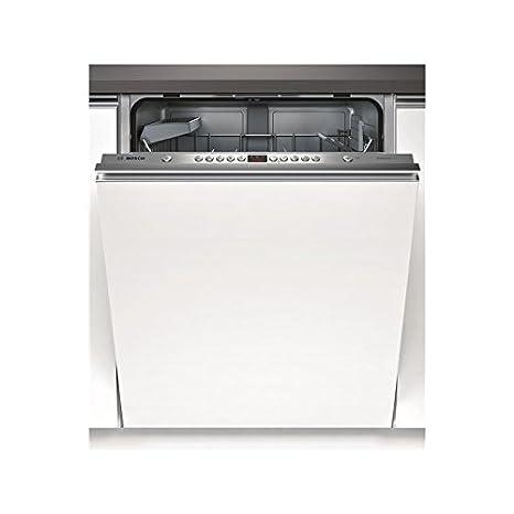 Bosch SMV53L40EU lave-vaisselle - lave-vaisselles (Entièrement intégré, A, A+, Argent, Blanc, boutons)