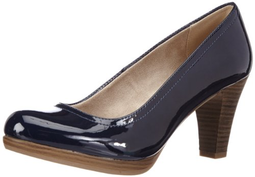 Tamaris Womens TAMARIS Plateau Blue Blau (DARK NAVY 878) Size: 8 (42 EU)