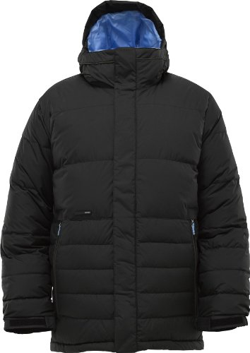 Burton Herren Snowboardjacke Cushing Down, true black, Gr. M, 253711