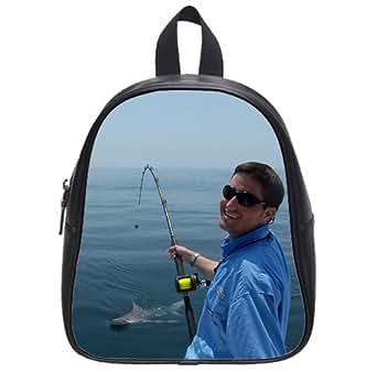 Outdoor beach fishing backpack kid 39 s school for Fishing backpack amazon